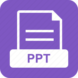 file, information, ppt, presentation, template, white icon