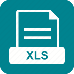 document, download, excel, file, web, xls icon