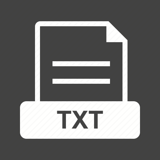 doc, download, extension, file, text, txt, web icon