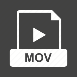 clip, file, internet, mov, play, player, video icon