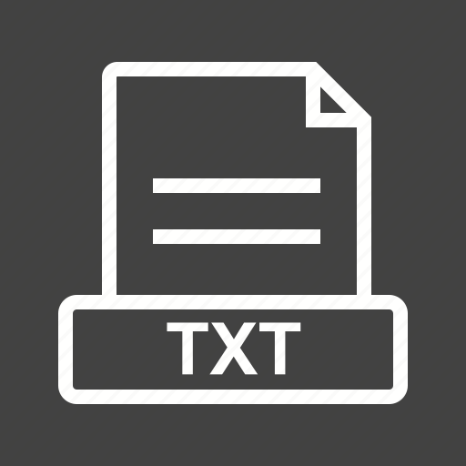 Doc, download, extension, file, text, txt, web icon - Download on Iconfinder
