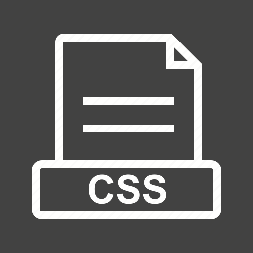 Css, document, download, extension, file, format icon - Download on Iconfinder
