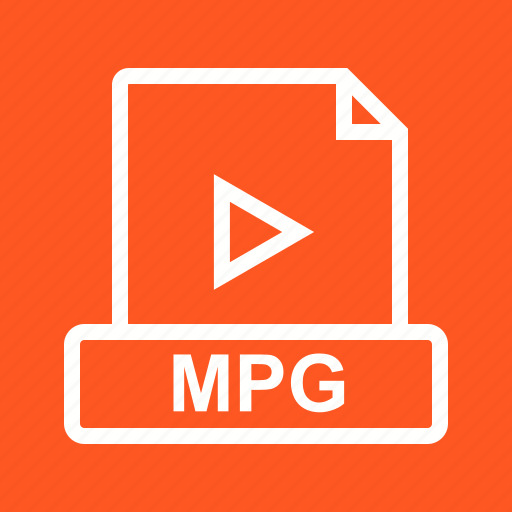 document, file, mov, mp4, mpg, player, web icon