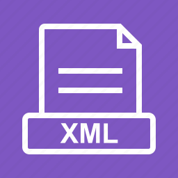 file, graphic, sign, web, website, xml icon