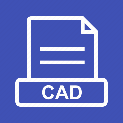 cad, document, file, file extension, file type, format icon