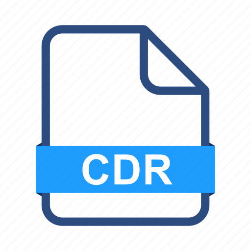 cdr, document, extension, file, files, format icon