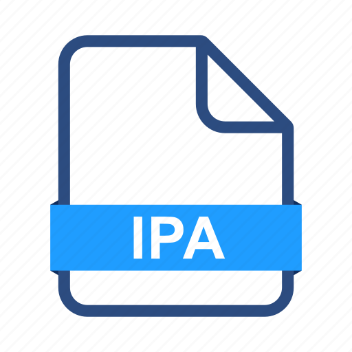 document, extension, file, format, ipa icon