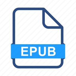 document, documents, epub, extension, file, format icon