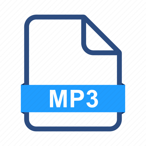 document, documents, extension, file, format, mp3 icon