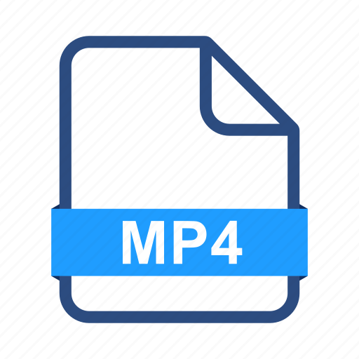 document, documents, extension, file, files, format, mp4 icon