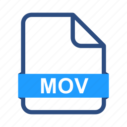 document, documents, extension, file, files, format, mov icon