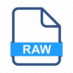document, documents, extension, file, format, raw icon