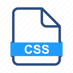 css, document, documents, extension, file, format icon