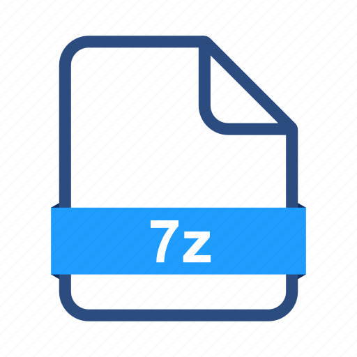 7z, document, extension, file, format, zip icon