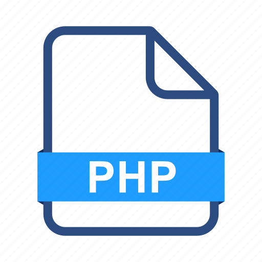 document, documents, extension, file, format, page, php icon