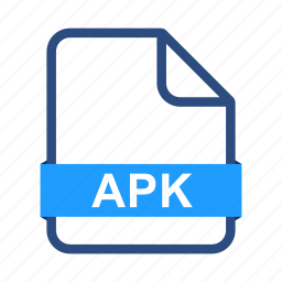 android, apk, document, extension, file, format, paper icon