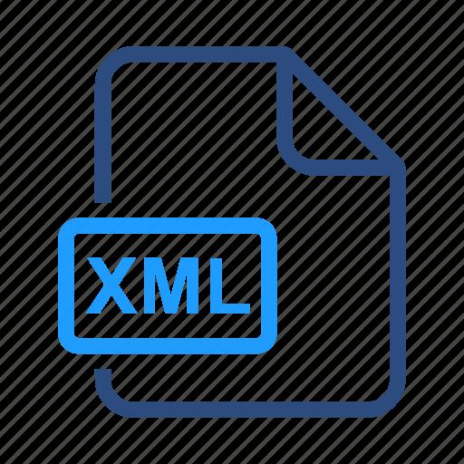 coding, programming, xml icon