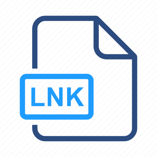 file, format, lnk icon