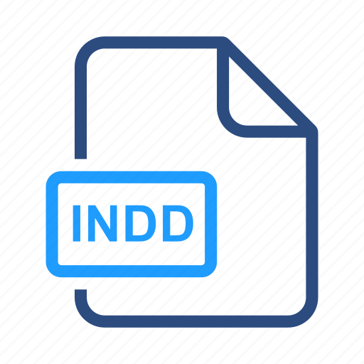 extension, file, format, indd icon