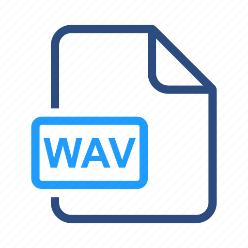 document, file, name, wav icon
