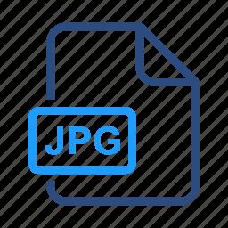 file, format, jpg icon