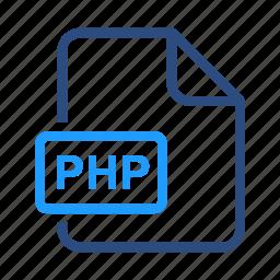 basic, file, php icon