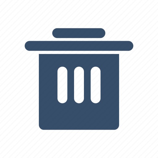 clean, clear, filemanager, junk, trunk icon