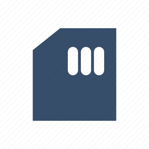 card, filemanager, memory, storage, usage icon