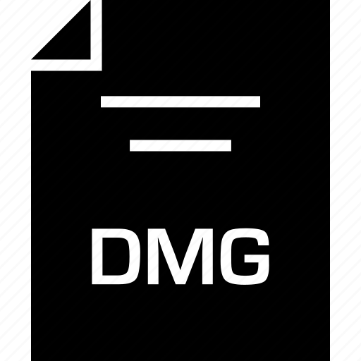 dmg, document, extension, name icon