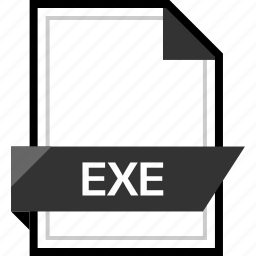 document, exe, extension, file icon