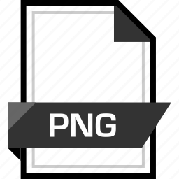document, extension, file, png name icon
