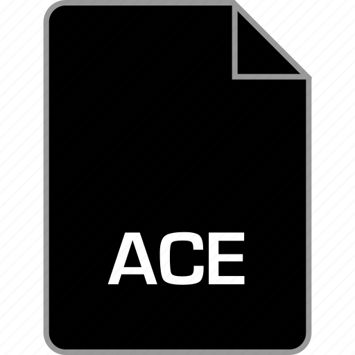 ace, extension, file icon