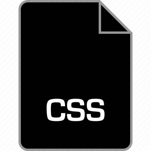 css, extension, file, style icon