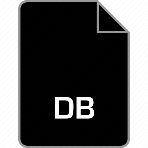 db, extension, file icon