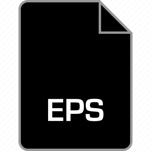 eps, extension, file icon