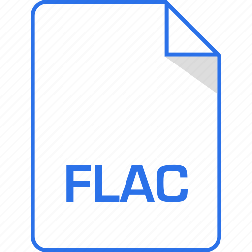 document, extension, flac, page icon