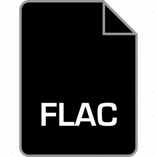 extension, file, flac icon