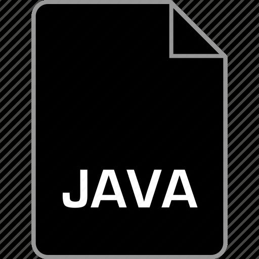 extension, file, java, language icon