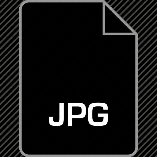 extension, file, jpeg, jpg icon