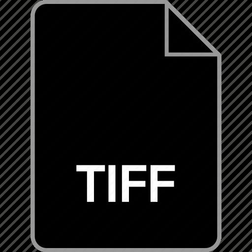 extension, file, tiff icon