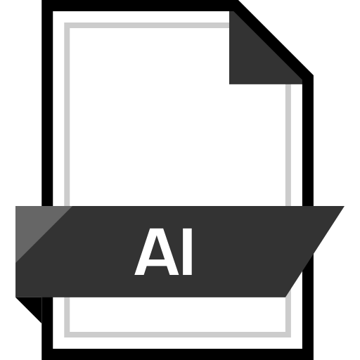 ai name, document, extension, file icon