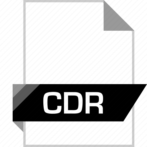 cdr, file, name icon