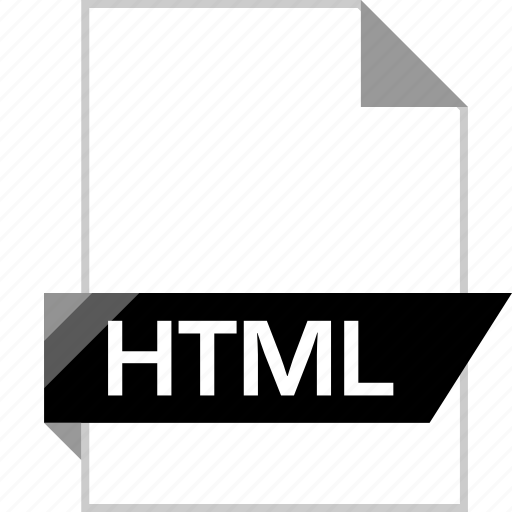extension, file, html, page icon