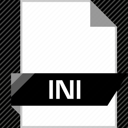 file, ini, name icon