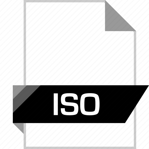 file, iso, name icon