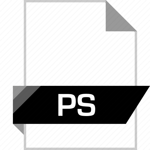 file, name, ps icon
