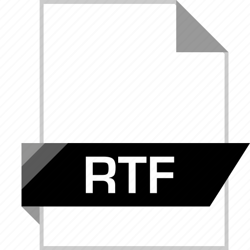 file, name, rtf icon