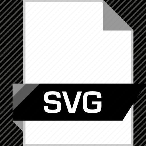 file, illustrator, name, svg extension icon