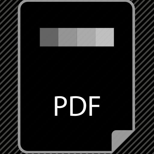 extension, page, pdf icon
