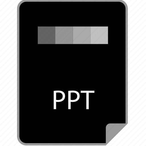 extension, page, powerpoint, ppt icon